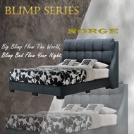 ★Cozyroom★Norge Fabric Bed Frame Available in Single Super Single Queen King Sizes