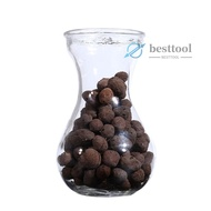 besttool Clay Pebbles Hydroton Orchids Aquaculture Filter Anion Organic Expanded Clay Pebbles Grow Media Organic Expanded Clay Pebbles Grow Media