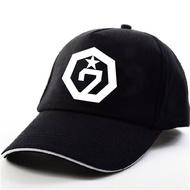 MZ092 GOT7 Album Identify Logo Print Sport Hat Unisex Baseball Caps