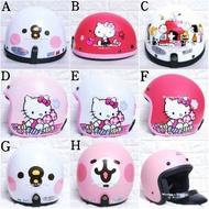 卡娜赫拉 兔子兔兔小雞P助 HelloKitty Kitty 史努比卡通 3/4罩 碗公 半罩 全罩 機車 騎士 安全帽
