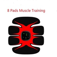 Redcolourful EMS Rechargeable Muscle Stimulator Abdominal Electronic Power Massager Trainer Unisex Fitness Training Gear
