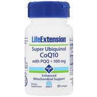 美國 Life Extension還原型輔酶 Q10富里酸 CoQ10 PQQ 30粒泛醇