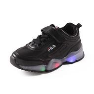 Raya BABYL เด็ก FILA คุณภาพสูงเด็กรองเท้าไฟ LED รองเท้าผ้าใบลำลองสำหรับเด็กรองเท้าเด็ก
