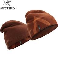 Arcteryx 始祖鳥 登山毛帽/雙面羊毛保暖帽/滑雪 Crest 21711 度假褐/歡樂橘