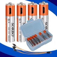 USB快充電池4號 (1組4入)SORBO 鋰電池USB充電電池 附MICRO充電線原廠公司貨【GN278】◎123便利屋◎
