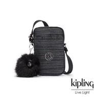【KIPLING】沉穩十字條紋可愛長方形小包-TALLY