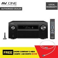 Denon AVC-X8500H 13.2 Channel AV Receiver Authorized Dealer/Official Product/Warranty