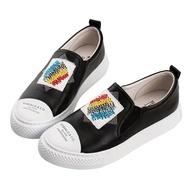 【ROBINLO】Messer 繽紛鑲鑽塗鴉休閒鞋-2742063002P黑色 / 原價3000