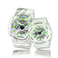 【CASIO 卡西歐 對錶系列】情侶首選_G-SHOCK對錶系列(GA-110TX+BA-110TX)