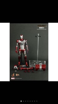 Hot Toys HT 鋼鐵人IRON MAN Mark V MMS145 MK5 馬克5