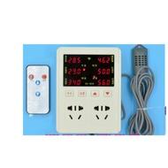AC85~220V紅外線遙控型溫溼度控制器