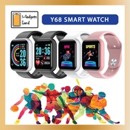 ✺●✐blood pressure monitor |omron blood pressure monitor| Y68 Smart Watch [Fitness Smartwatch, Heart Rate Monitor, Blood