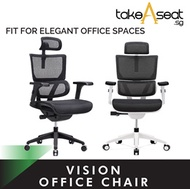 Vision Ergonomic Chair ★ Office Chair ★ Flexible Lumbar Support ★ Ergonomic Back Support