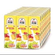 光泉果汁保久乳200ml一箱/24入$280