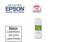 Epson LabelWorks LW-C410 ** Free $10 NTUC Voucher Till 2nd Mar 2019 ** LWC410 410