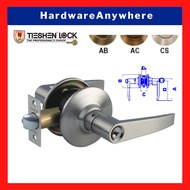 TIESHEN Keyed Lever Lockset / Entry Door Lever Lock Entrance Door Handle [Suitable for commercial and residential use]