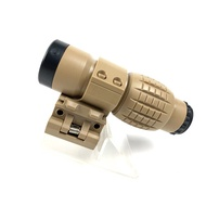 Crystalwave Tactical Red Dot Sight Sight 3x Magnifier Side