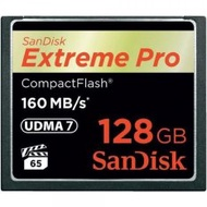 Sandisk 128GB Extreme Pro CF 160MB/s SDCFXPS-128G-X46 - W 150MB/s