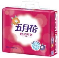 【文具通】現貨快速出貨 五月花 輕柔 新柔韌 抽取式 衛生紙 1包/110抽 P1040104