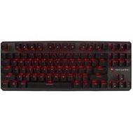 Free gift+ Tecware Phantom TKL mechanical gaming PC keyboard red LED 3 - intl