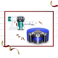 【超值6折組合】Dyson 360 Heurist 智能吸塵機器人 + V6 Mattress除塵螨機