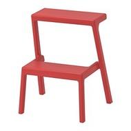 IKEA MÄSTERBY 墊腳凳, 棕紅色