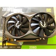 ZOTAC GAMING GeForce RTX 2060 OC 二手 近全新