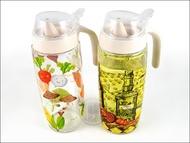 快樂屋♪ Quasi 玻璃油壺 (L) 500ml 油壺 油瓶 油醋壺 調料瓶