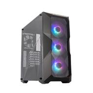CoolerMaster MasterBox TD500 ARGB機殼 黑色 硬派精璽