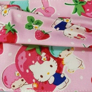 限量草莓kitty雙子星  口罩套