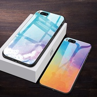 online Colorful Tempered Glass Phone Case For Huawei P30 P10 P20 Lite Mate 10 20 Pro Nova 2 2i 3 3i
