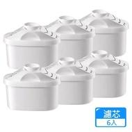 【團購世界】CLEAN WATER濾水壺專用濾芯6入組