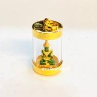 จี้พระแก้วมรกต หลอดแก้ว เลี่ยมทอง ทองแท้75% (ตัวพระไม่ใช่ทองค่ะ) เลี่ยมหลอดแก้วสวยงามมากๆค่ะ ราคา 1390฿ #ลดราคาสุดพิเศษเหลือเพียง1190บาทมีใบรับประกันให้ค่ะ ใส่กับสร้อยคอหนัก1สลึง หรือ 2สลึงตันๆได้ค่ะ
