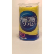 【得意】廚房紙巾70組  (單捲包裝)   (贈品價)