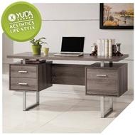 書桌【YUDA】康迪仕 深木色 寫字桌/工作桌/電腦桌 J9S 547-1