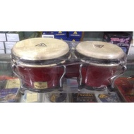 """High Quality Tycoon Bongo Drums 8""""+ 9"""" Inches Double Bongo Percussions"""
