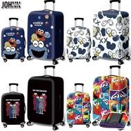 Johnnผ้าคลุมกระเป๋าเดินทางผ้ายืดกันฝุ่น,อุปกรณ์เสริมกระเป๋าเดินทางสำหรับกระเป๋าเดินทางขนาด18-20-22-24-26-28-30-32นิ้ววัสดุมีความยืดหยุ่นกันน้ำ