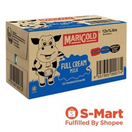 Marigold UHT Full Cream Milk, 12 x 1L