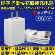 優質現貨 可開統編~錘子手機堅果PRO3充電器Pro2 2S原裝R1快充CD101充電頭M1L數據線3