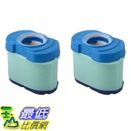 [106美國直購] 2 Durable Briggs & Stratton 276890, 792105, 4233, 5405H & 5405K Air Filter Cartridges
