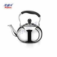139百貨~米雅可 304不銹鋼圓形琴音茶壺 5L (145820) 開水壺 泡茶壺