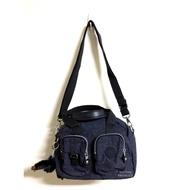 Kipling 比利時品牌 背提包 肩背包 側背包 小包 隨身包 猴子 吊飾 娃娃 玩偶 現貨 深藍色 專櫃價$3350