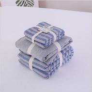 無印良品風四件組 MUJI同款 天竺棉 免運費现货 簡約條紋 裸睡床包 台灣尺寸 兩用被 四件組 雙人加大床包 雙人床包