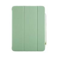 【My Colors】液態膠系列 iPad Pro 11吋 2018液態膠附筆槽 三折平板保護殼(矽膠軟殼 休眠 喚醒 手感滑順)