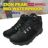 MERRELL ZION PEAK MID WP 男款 中筒 登山鞋 戶外防水 F8@(J035357)Lucky Shop