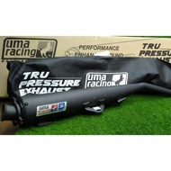 S SPEC UMA RACING TRU PRESSURE EXHAUST PIPE 28MM X 32MM FOR Y15ZR LC135 LC5S LC4S RS150