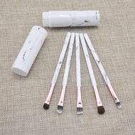 Ang mga tagagawa ay nagdala ng 5 marmol na kabayo ng buhok ng mata na takip ng brush malambot na ha