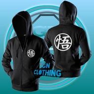 Anime Dragon Ball Hoodie Zipper Hoodie Jacket