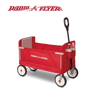 RadioFlyer 摺學家三合一折疊旅行拖車(EVA胎)_3950A型 兒童 露營推車 外出拖車 拖車
