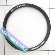 Alloy Ring Bicycle Rims 20 Inch 32 Hole